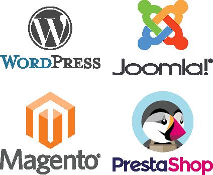 Wordpress - Joomla - Magento - Prestashop
